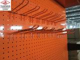 Cremalheira da loja ou do supermercado do indicador do metal