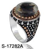 Anello d'argento dei monili di Hotsale della fabbrica con resina