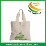Sac 100% organique réutilisable amical personnalisé de coton d'Eco de long traitement promotionnel