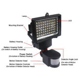 10W 60LEDs Solar LED Flood Lights Sensor de movimento PIR