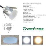 Illuminazione anabbagliante dell'indicatore luminoso di luna IP67 0.5W 12V 24V LED esterna