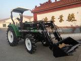 4WD 35HP Minibauernhof-Traktor-gehender Traktor