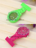 Мода медицинской сестры-Clip на брелоке Brooch петличный карман часы пластика