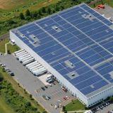 sulla centrale elettrica a energia solare di uso 10kw della casa di griglia