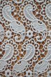 衣服およびホーム織物のための優雅な刺繍が付いている新式のポリエステルレースファブリック