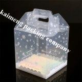 공상 디자인 도매 포장 공간 애완 동물 활 (컵케이크 상자)를 가진 플라스틱 컵케이크 포장 상자