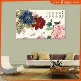 Het symbool van Rijkdom en het Ere Schilderen ModelNr van de Bloemen van de Pioen Chinese Traditionele.: Wl-014
