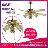 Ventilatore di soffitto decorativo del compensato di lusso con l'indicatore luminoso del LED (HgJ52-1512)