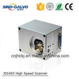 レーザーの打抜き機のためのライト級選手9mmのビーム開口デジタルJd1403 Galvoヘッド
