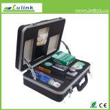 Jogo de luxe da limpeza da fibra óptica com espaço Lk-6021 da inspeção 400X