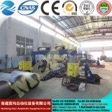 Venda quente! Máquina de dobra hidráulica da placa de quatro rolos do CNC Mclw12scx-12X2000, máquina de rolamento da placa