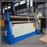 La Chine a fait à commande numérique par ordinateur hydraulique la machine de roulement de plaque de rouleaux en métal W12 d'acier inoxydable