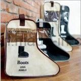 Saco de armazenamento sem costura para calçado para botas