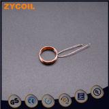 Litz de cable de cobre de la bobina del electroimán de inducción