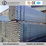 Tubi d'acciaio quadrati galvanizzati tuffati caldi Q235 per industria chimica