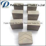 화강암 콘크리트를 위한 건축 공구 900mm 절단기 헤드 다이아몬드 세그먼트