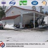 Estrutura de aço da estrutura do Portal Sinoacme galpão de construção