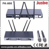 Fk-800 de mano de profesionales de audio micrófono inalámbrico UHF