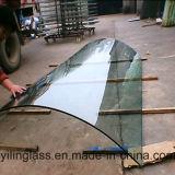 安全によってEsclator和らげられる曲げられたガラス