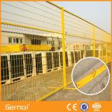 Baustelle-temporärer Zaun für Kanada-Markt