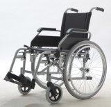 Manuale d'acciaio, rotelle dell'unità di elaborazione, sedia a rotelle, (YJ-018EC-4)