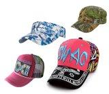 2017년 자수 좋은 품질 모자, 적합하던 100%년 면 야구 모자, 주문 모자, 100% 무거운 솔질된 면 능직물 모자