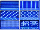 Il singolo testo esterno blu di Semi-Outdoor& P10 LED fa pubblicità alla visualizzazione