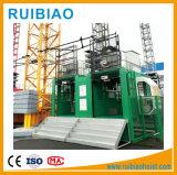 Marke verwendete im Freien Hebevorrichtung des Baumaterial-Aufzug-Hebevorrichtung-Gebäude-Sc150/Sc200/Sc300 mit Fahrerhaus