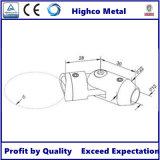 Conector de barra para trilhos de aço inoxidável
