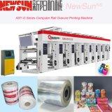 Печатная машина Gravure пленки PVC рельса asy-G компьютеризированная серией