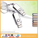 Mecanismo impulsor plástico del USB del eslabón giratorio del USB de los items de memoria Flash promocional de la torcedura
