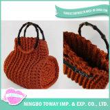 Concepteur de gros personnalisés Fashion sac à main de fils à tricoter