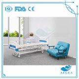 中央ロックシステム3クランクの手動病院用ベッドとのAG-BMS002