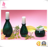 Vollständiges Set elegante Form-kosmetische Flaschen und Gläser