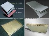 Comitati ondulati preverniciati dell'alluminio decorativo