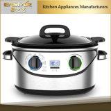 L'approbation ETL 7 en acier inoxydable 1 Slow Cooker MC-603D Multi cuisinière