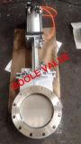 Válvula de porta flangeada pneumática da faca (GAPZ643H)