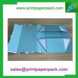 주문 호화스러운 인쇄 패킹 마분지 선물 상자 보석함 저장 상자
