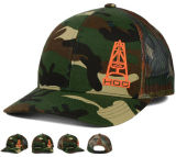 Pressional OEM Customized 3D Bordado 6 Panels Camouflage Sports Baseball Cap