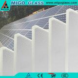3.2mm hanno indurito il vetro solare del ferro basso Supplementare-Libero
