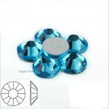 Ss6 Ss8 Ss10 Ss12 Ss16 Ss20 Ss30 편평한 뒤 모조 다이아몬드 (FB ss12 남옥)