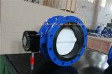 Válvula de borboleta do aço inoxidável com assento Vulcanized (D341X-10/16)