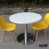 Tabella pranzante rotonda dell'alta mobilia lucida del ristorante della prima classe