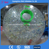 Bola de balanceo inflable de la bola de la hierba de la bola humana del hámster del precio de la bola barata del PVC/de TPU Zorb