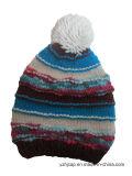 Зимние Red Hat акриловый жаккард Red Hat Beanie Red Hat Custom Вязки Вязки POM POM Red Hat Red Hat