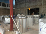 二重層のステンレス鋼タンク