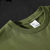 Nouveau design respirante T-shirt en coton militaire