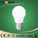 Ctorch 5W A50 모양 Plast+Aluminum LED 전구 램프