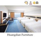 Moderno hotel de diseño conjunto de Muebles de Dormitorio muebles de madera de hospitalidad (HD626)