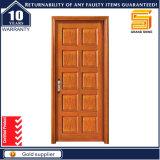 Qualité extérieure et porte en bois avant en bois solide intérieure